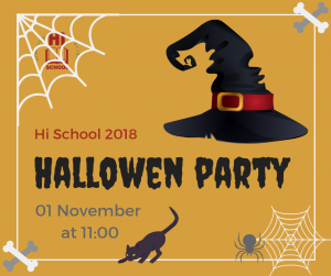 Hi School Halloween party 2018