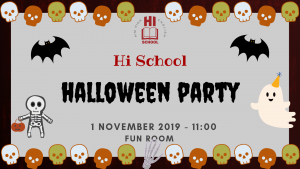 Hi School Halloween party 2019