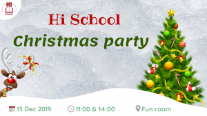 Hi School Christmas party 2019